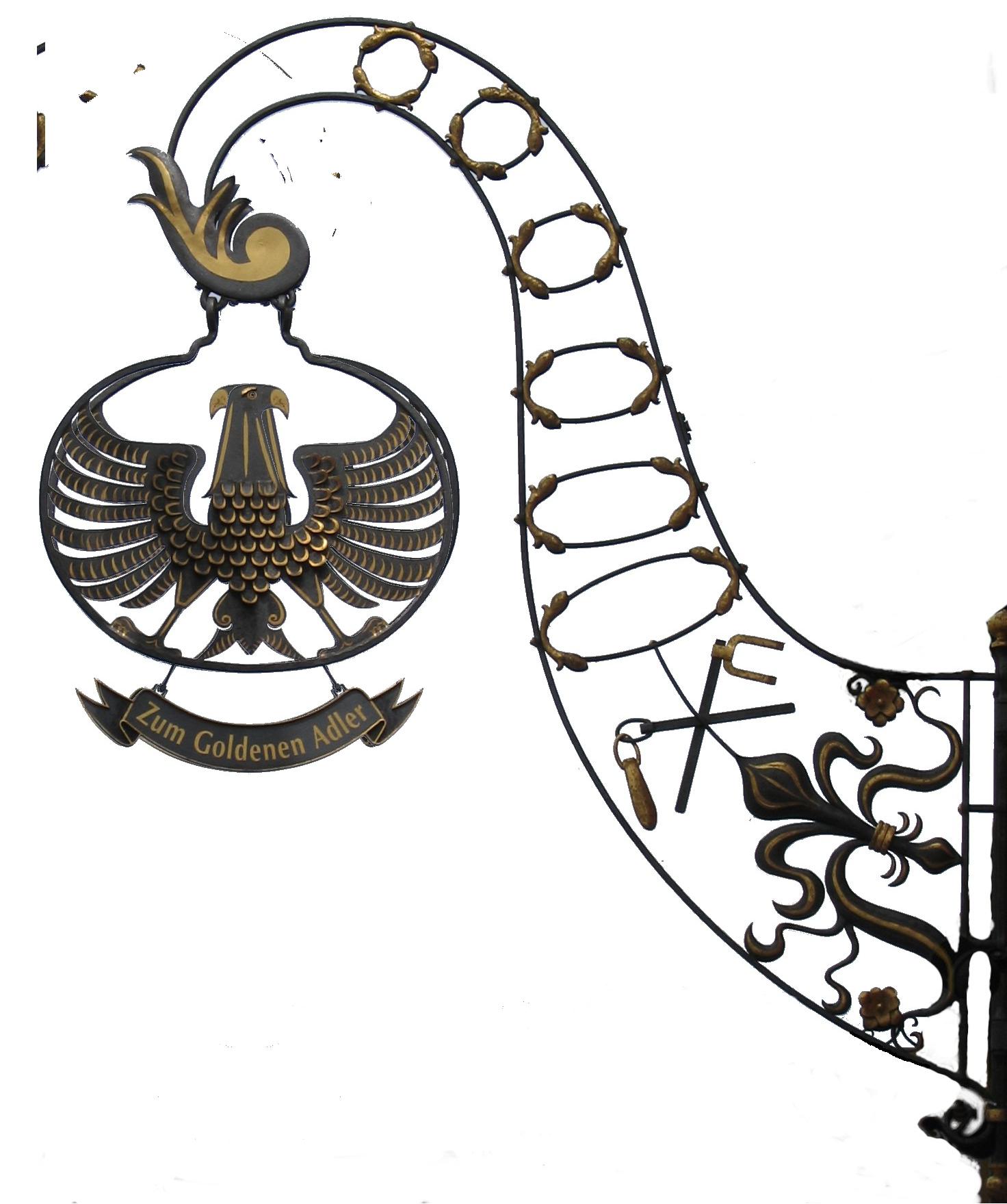 Goldener Adler Ausleger