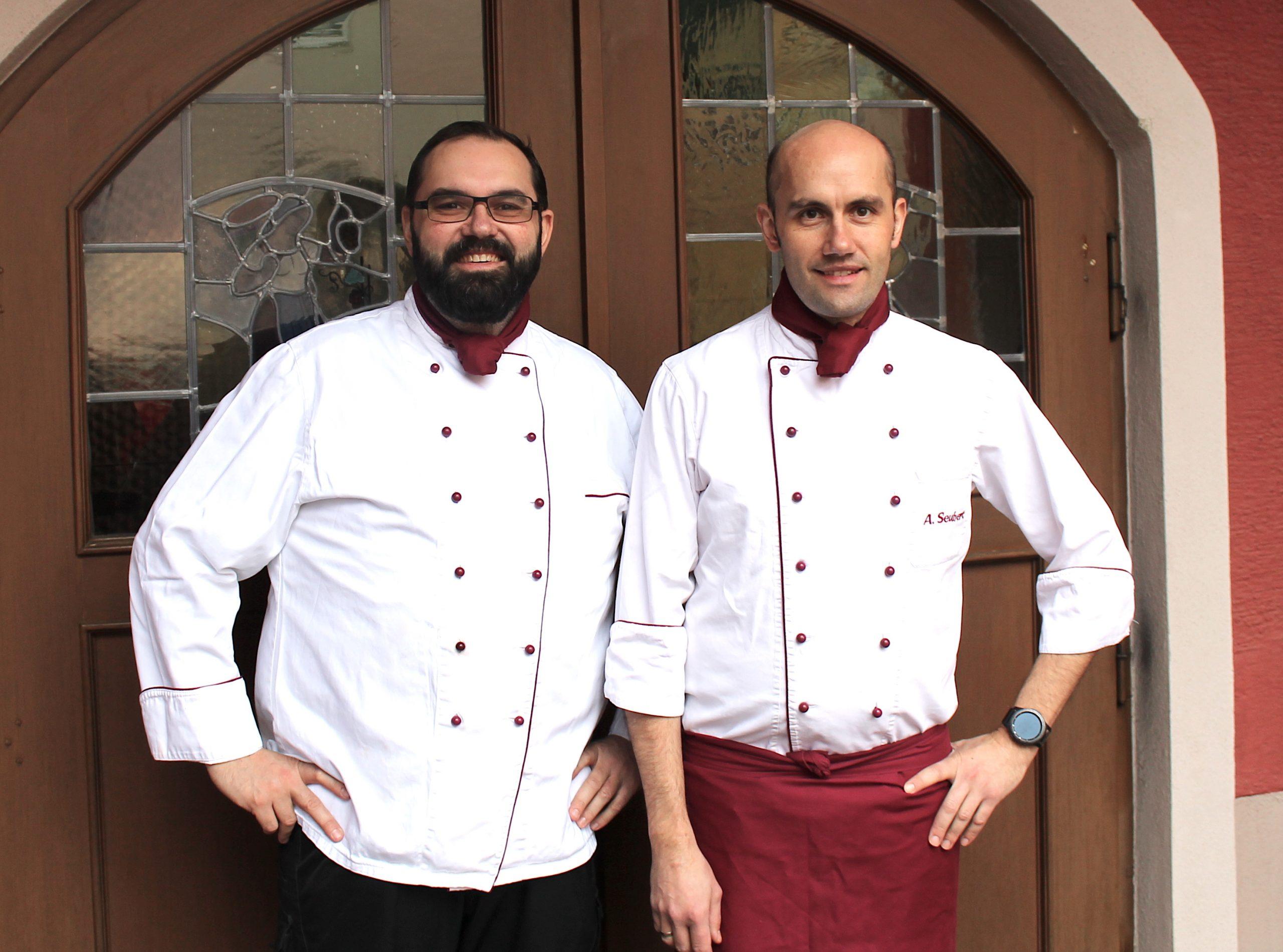 Die Inhaber Stefan und Andreas Seubert